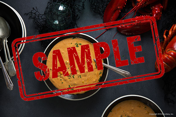 Lobsterchowder sample